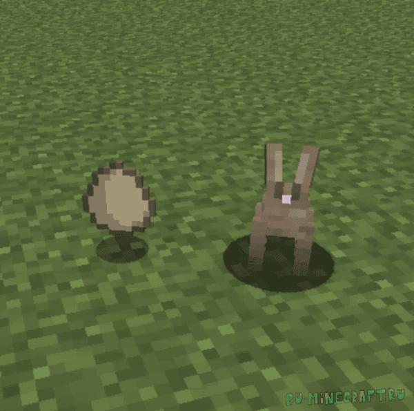 Easter Rabbits - пасхальный кролик [1.15.1] [1.14.4] [1.13.2] [1.12.2]