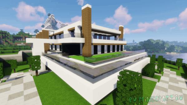 Modern Luxury Mansion - современный дом [1.13.2]