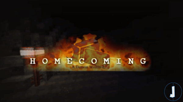 Homecoming - A Demon Within 2 - карта страшилка на прохождение [1.12.2]