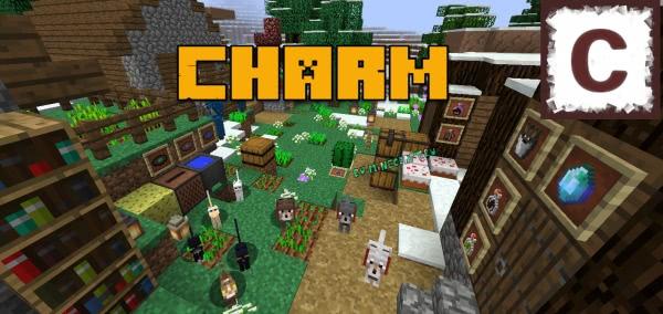 Charm Reforged - украшения и полезные блоки [1.16.5] [1.15.2] [1.14.4] [1.12.2]