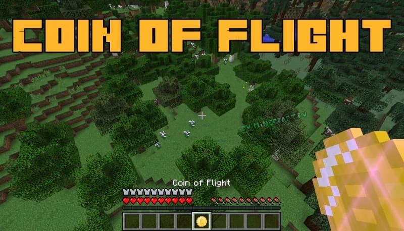 Coin of Flight - летаем в режиме выживания [1.16.5] [1.15.2] [1.12.2]