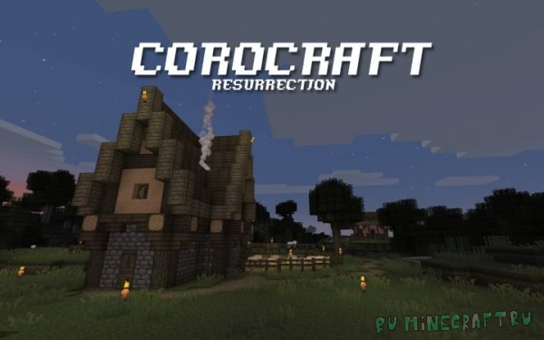 Corocraft Resurrection - мрачный ресурспак [1.14.x] [16x16]