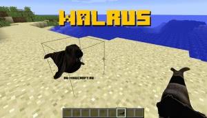 Walrus - моделька моржа [1.12.2]