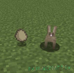 Easter Rabbits - пасхальный кролик [1.16.1] [1.15.2] [1.14.4] [1.12.2]