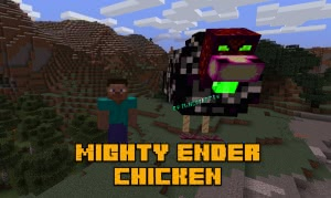 Mighty Ender Chicken - босс эндер курица [1.12.2]