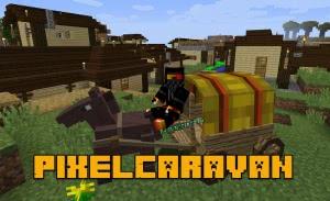 PixelCaravan - деревни, оружие, структуры [1.12.2]