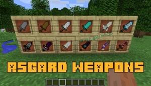 Asgard Weapons - большие мечи [1.12.2]