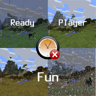Ready Player Fun - сохранение времени и сезона [1.15.2] [1.12.2]