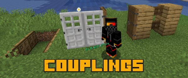 Door(s) Coupling - двойные двери [1.16.3] [1.15.2] [1.14.4]