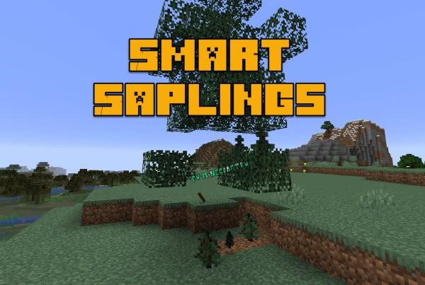 Smart Saplings - авто посадка саженцев [1.14]