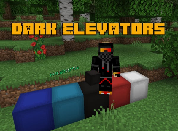 Dark Elevators - блок лифт-телепорт [1.14.2] [1.14.1]