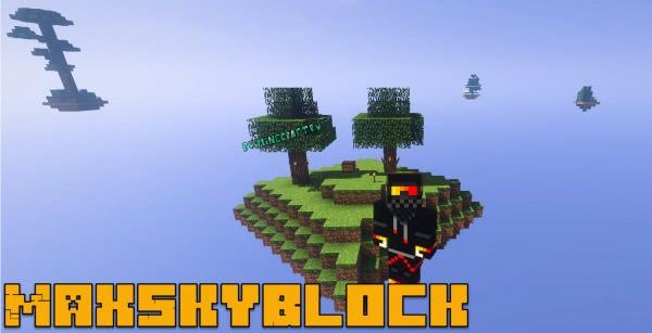 MaxSkyBlock - скайблок с 20 островов [1.13.2]