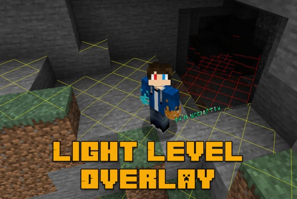 Light Level Overlay - уровень света [1.17] [1.16.5] [1.15.2] [1.14.4] [1.12.2] [1.7.10]