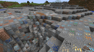 Ore Biome - биом с рудами [1.12.2]