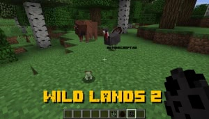 Wild Lands 2 - новые дикие мобы [1.12.2]