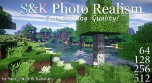 S&K Photo Realism - фотореалистичные, объемные текстуры [1.13.2] [1.12.2] [1.11.2] [64x-512x]