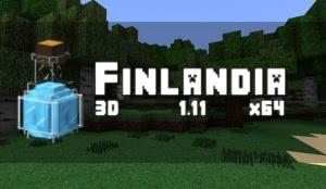 Finlandia 3D Models - текстуры с 3Д [1.12.2] [1.11.2] [1.8.9] [64x]