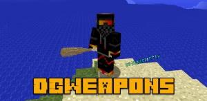 DGWeapons - постапокалиптическое 3д оружие [1.12.2]