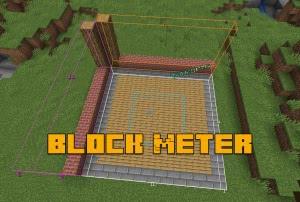 Block Meter - измерение расстояний [1.14.4]