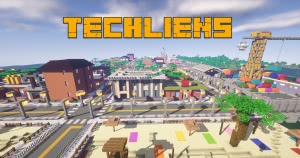 TECHLIENS 2 - симулятор города [1.12.2]