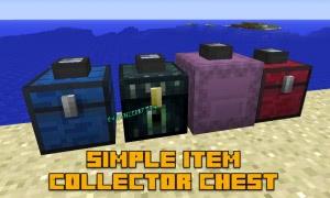 Simple Item Collector Chest - подбирающий сундук [1.12.2]