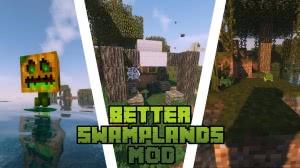 Traitor's Better Swamplands - улучшенные болота [1.15.2] [1.14.4] [1.12.2]