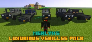 Merlyn's Luxurious Vehicles Pack - пак дорогих машин [1.12.2]