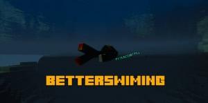BetterSwiming (Idō) - анимация плавания и ползания [1.12.2]