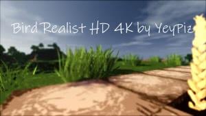 Bird Realist HD - рисованные качественные текстуры [1.14.4] [1.13.2] [1.12.2-1.8] [256x]