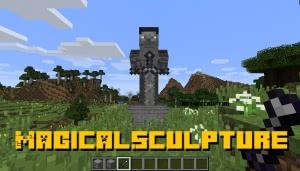 MagicalSculpture - магическая статуя [1.12.2]