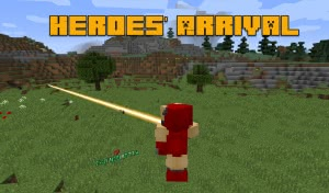Heroes' Arrival - супергеройский мод [1.12.2]