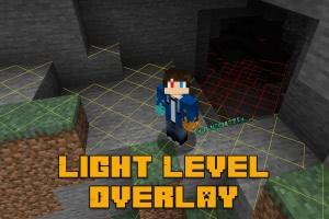 Light Level Overlay - уровень света [1.16.5] [1.15.2] [1.14.4] [1.12.2] [1.7.10]