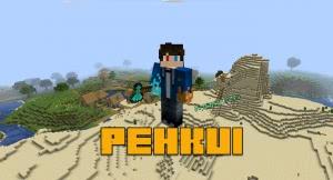 Pehkui - изменить размер игрока [1.16.2] [1.15.2] [1.14.4]