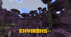 Environs++ - новые биомы [1.12.2]