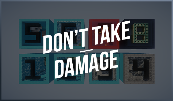 Don't Take Damage - не получи урона [1.8+] [MAP]