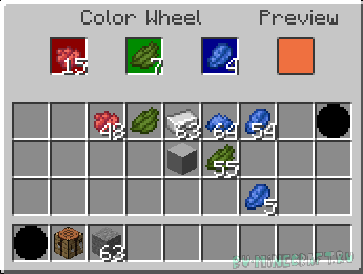 Simple Colored Blocks - огромная палитра цветов [1.15.2] [1.14.4] [1.14.3]