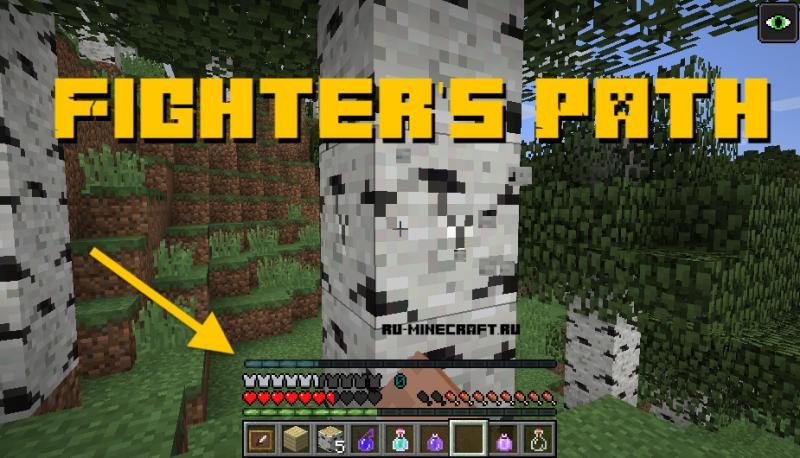 Fighter's Path - путь бойца [1.12.2]