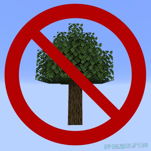 Trees Do Not Float - дерево падает при рубке [1.16.5] [1.15.2] [1.14.4]