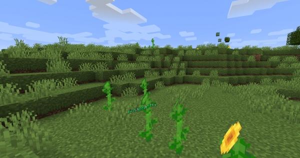 Open Lower Grass - больше травы на блоках земли [1.16.5] [1.15.2] [1.14.4] [1.12.2-1.7.10] [16x]