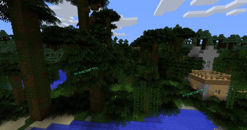 Amberstone leaves - реалистичная листва деревьев [1.14.4] [1.12.2] [128x]