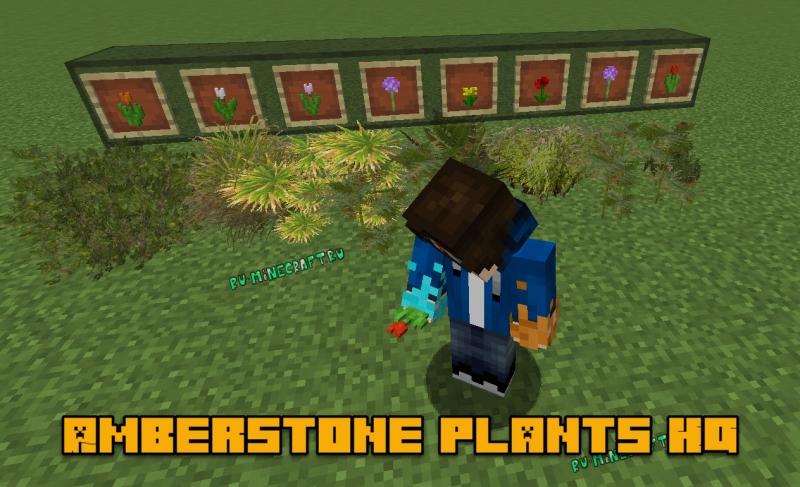 Amberstone plants HQ - цветы высокого разрешения [1.14.4-1.12.2] [1024x]