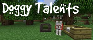 Doggy Talents - таланты, прокачка собаки [1.17.1] [1.16.5] [1.15.2] [1.14.4] [1.12.2] [1.8.9] [1.7.10]
