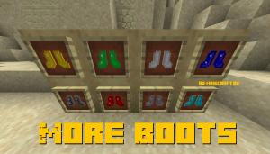 More Boots - больше обуви [1.16.5] [1.14.4] [1.13.2]