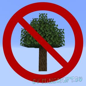 Trees Do Not Float - дерево падает при рубке [1.16.1] [1.15.2] [1.14.4]