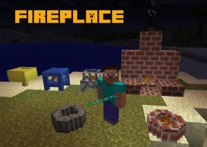 Fireplace -  камин, костер, гриль, дымоход [1.7.10] [1.7.2] [1.6.4] [1.5.2]
