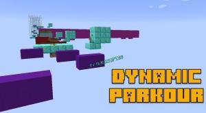 Dynamic Parkour - парукр на двигающихся блоках [1.14.2]