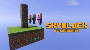 SkyBlock by RageGrief - скайблок с торговлей [1.12.2]