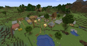 Карта - Улучшенная деревня Майнкрафт [1.14.2]