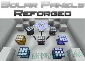 Solar Panels Reforged - солнечные панели [1.12.2]