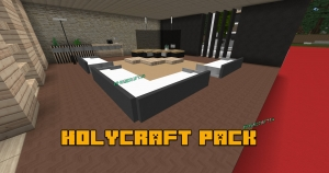 Holycraft pack - текстуры для декора в стиле модерн [1.14.4] [1.12.2] [128x] [256x]